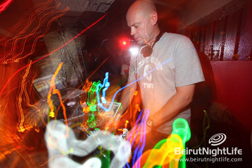 Dave Seaman at the Basement Beirut