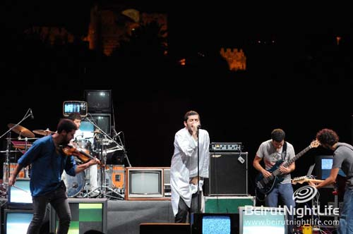 Byblos International Festival 2010: Mashrou' Leila