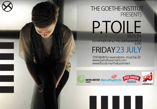 The Goethe-Institut presents P.Toile Berlin