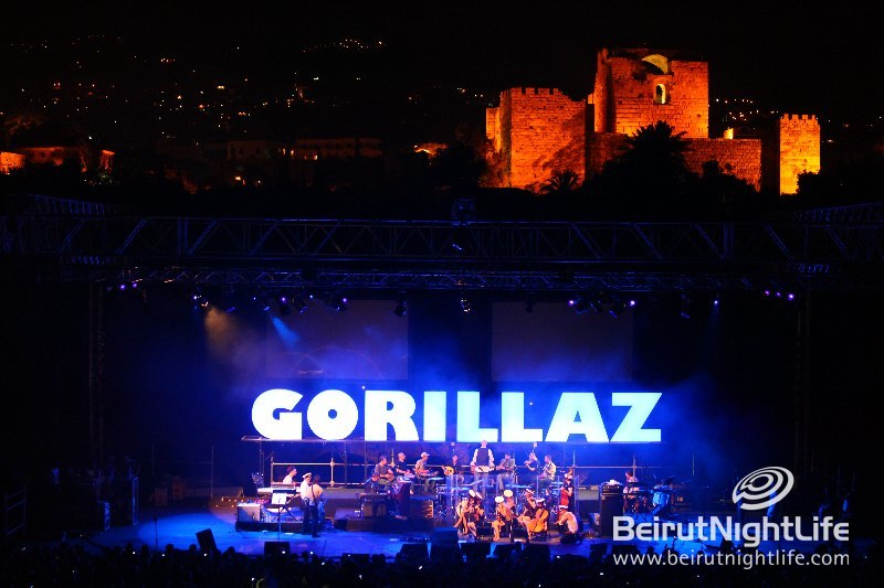 Byblos International Festival 2010: Gorillaz