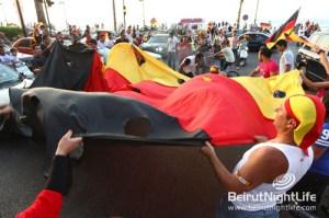 From Deutschland to Beirut
