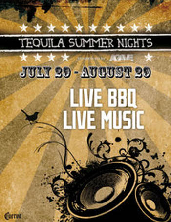 Tequila Summer Nights Closing Weekend at AGAVE