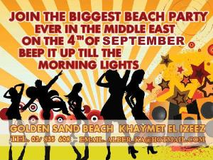 BIGGEST BEACH PARTY At Golden Sand Beach