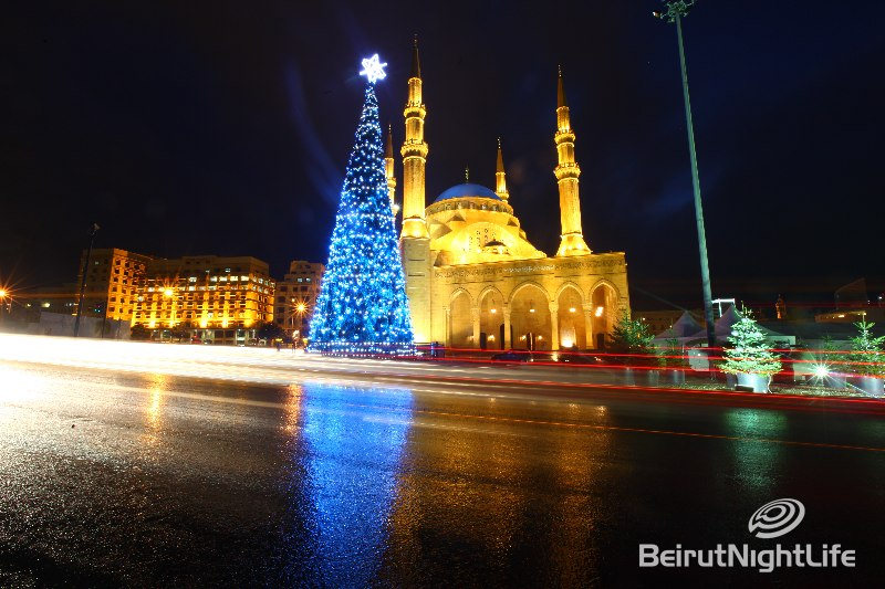 Christmas Tree Downtown Beirut 2009