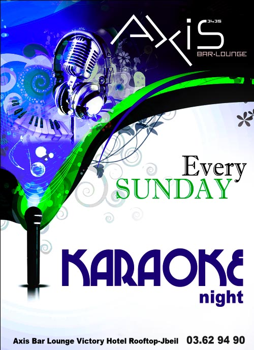 Karaoke Night at Axis Bar Lounge