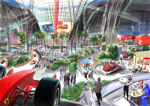 First Ever Ferrari World Theme Park