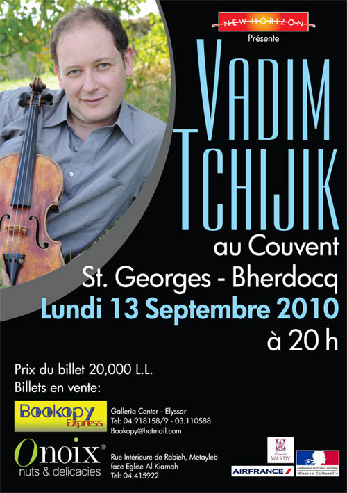 VADIM TCHIJIK At Couvent ST.George-Bherdocq