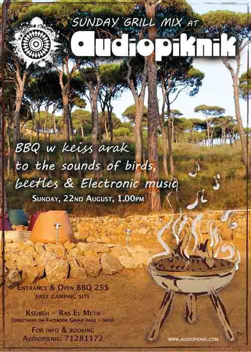 Audiopiknik: Sunday Grill Mix