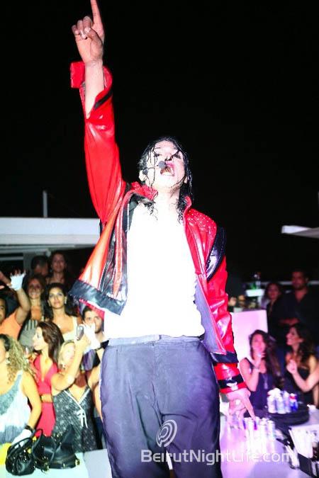 Tribute To Michael Jackson at White