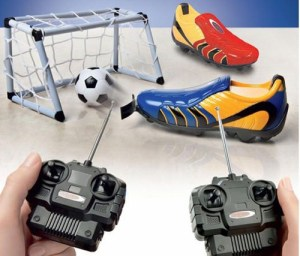 Remote Controlled Football Boots