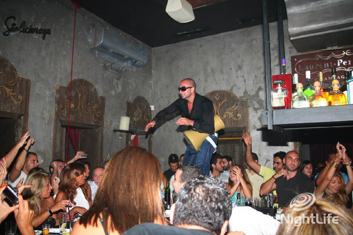 Beirut Nights:Sepia Gemmayzeh