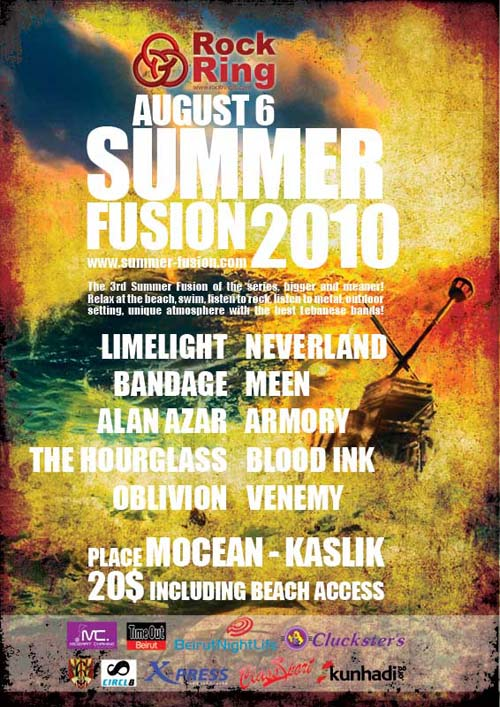 Summer Fusion 2010 at Mocean-Kaslik
