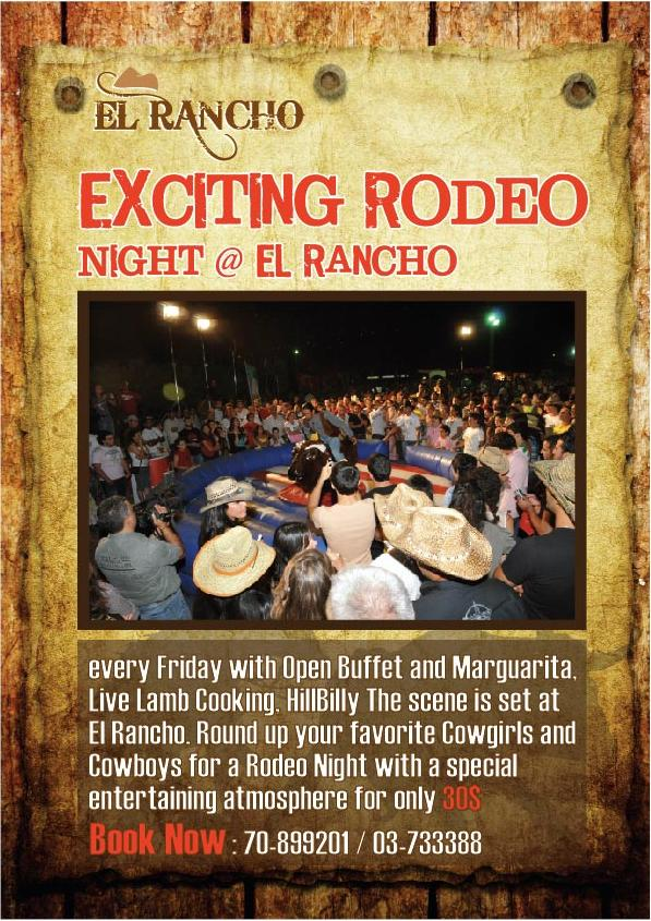 Exciting Rodeo Night at El Rancho