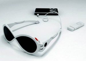 Sunglasses that Power your Gadgets