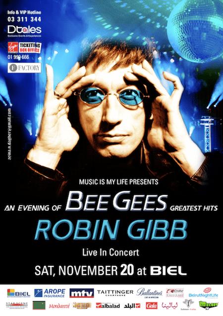 ROBIN GIBB Live In Concert