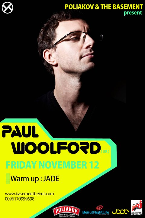 Poliakov pres. Paul Woolford (UK) at the Basement