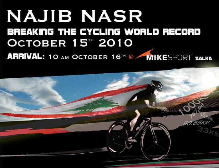 Breaking The Cycling World Record!