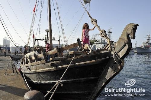 Phoenician Boat in Lebanon