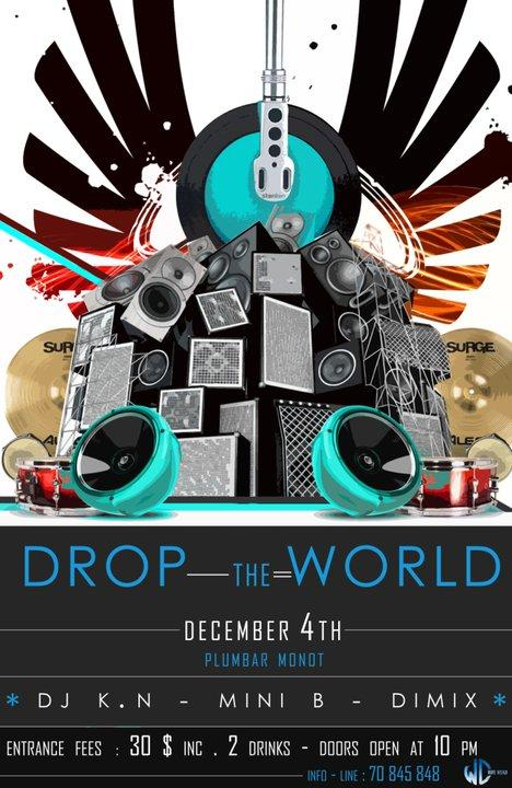 Drop The World At PlumBar Monot