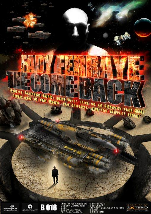The Come Back … Fady Ferraye Returns To B018