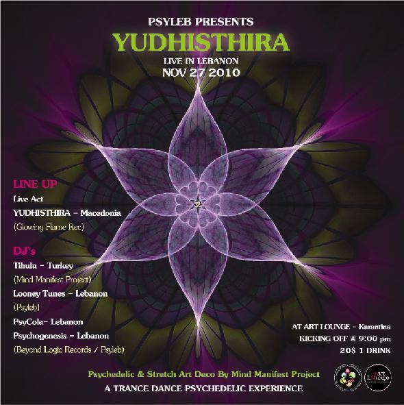 Psyleb And Mind Manifest Present Yudhisthira Live In Lebanon