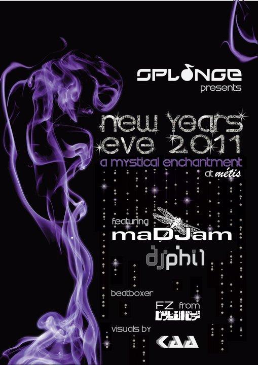 Splonge New Year's Eve 2011