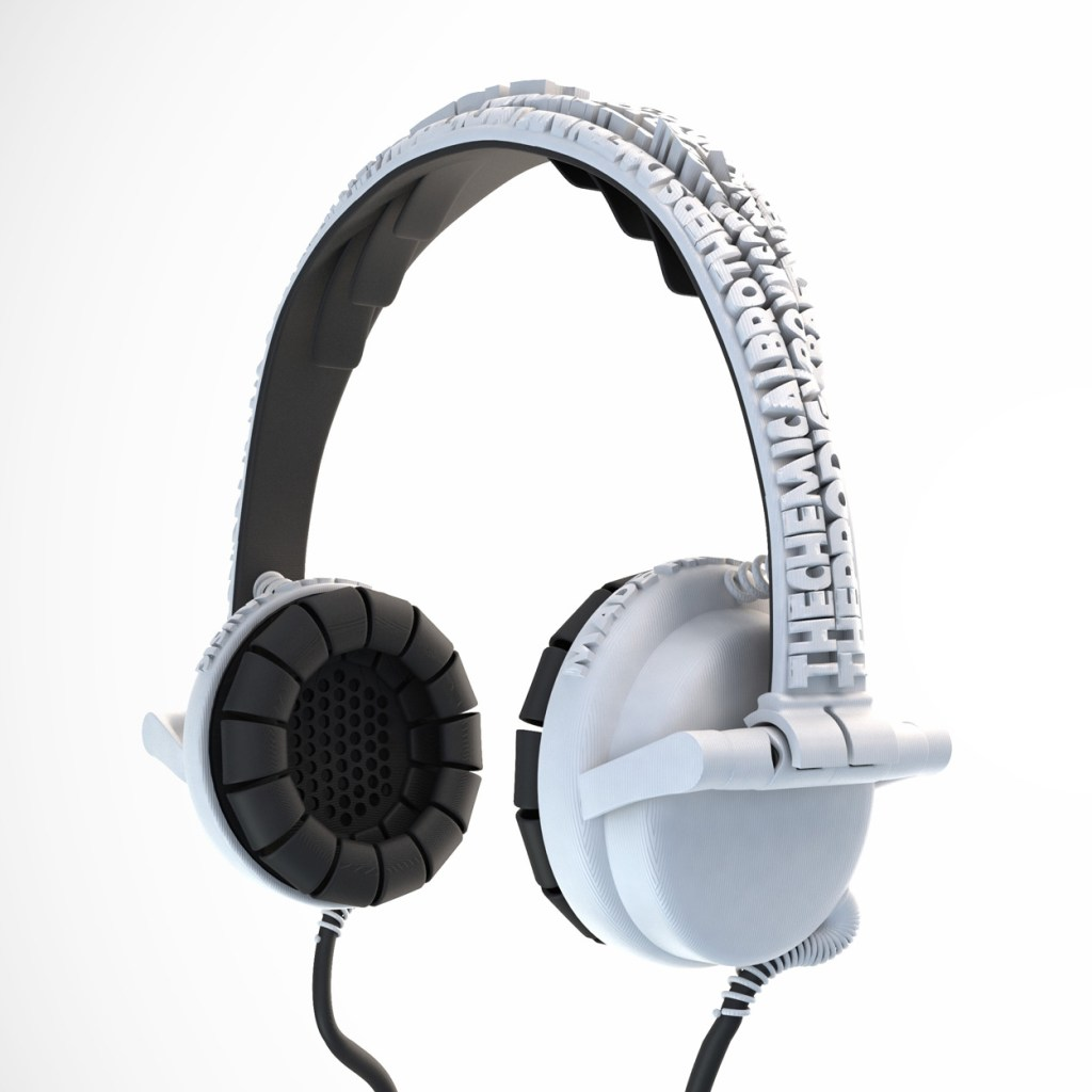3D Custom Made Headphones