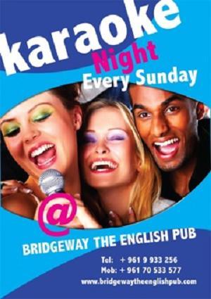 Karaoke Night At Bridgeway