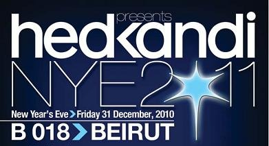 Hed Kandi New Year's Eve at B018