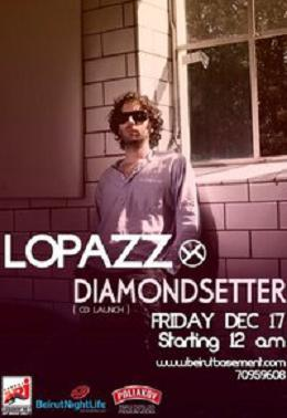 Lopazz And Diamond Setter CD Launch At the Basement