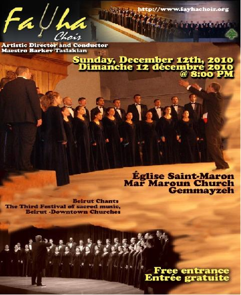 Acapella Concert of Fayha Choir