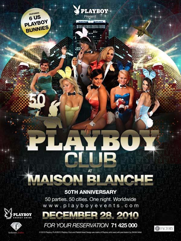 PlayBoy At La Maison Blanche