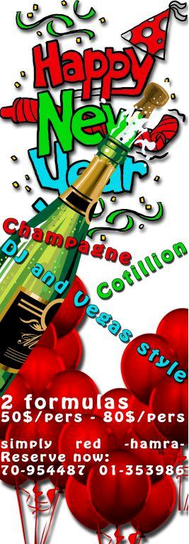 New Year's Eve At Simply Red