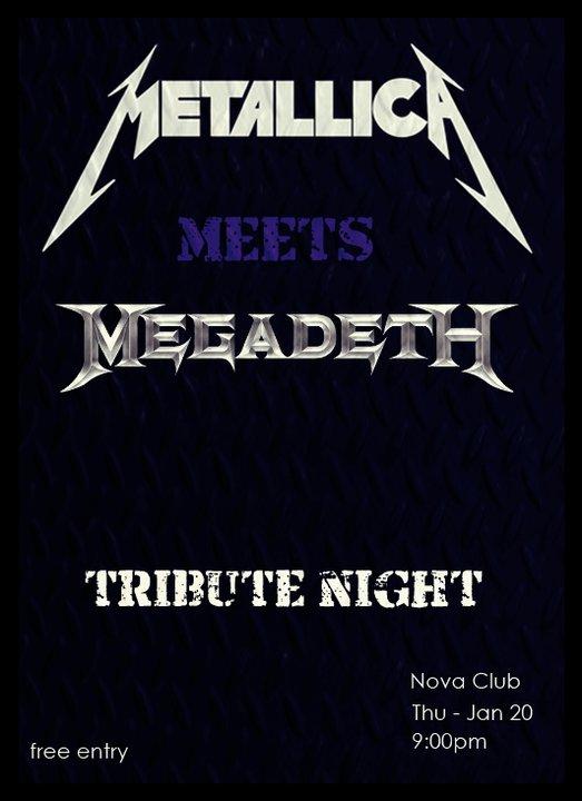 Metallica Meets Megadeth Tribute Night At Nova