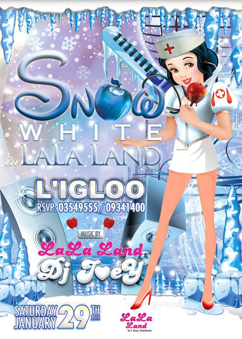 Snow White In Lala Land At Igloo