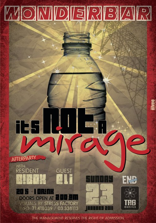 It's Not A Mirage After Party At WonderBar