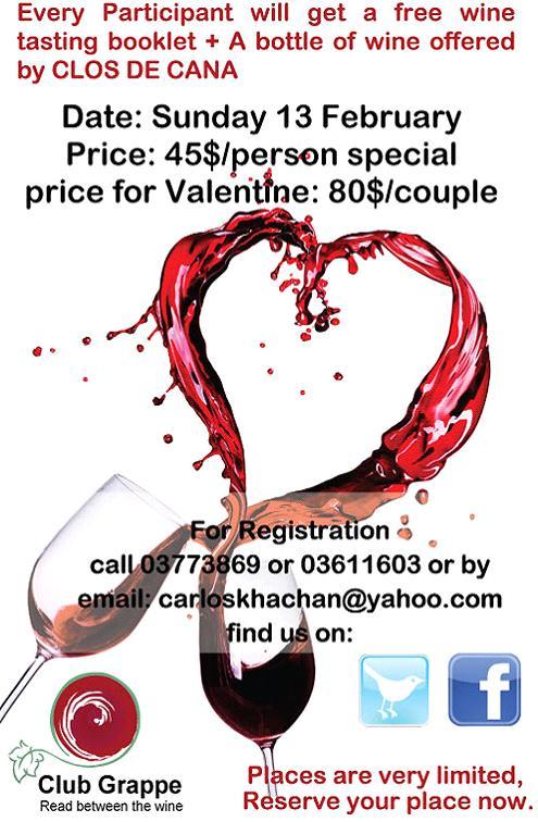 Valentine Wine Trip