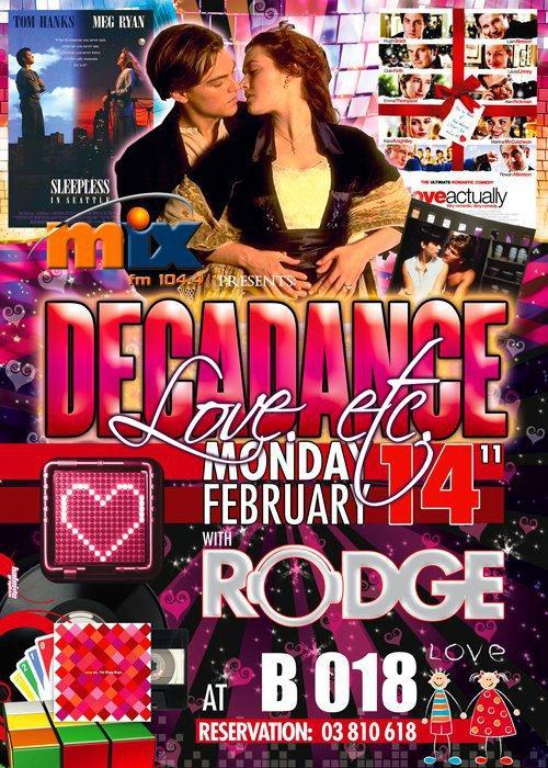 Decadance Valentines Edition At B 018