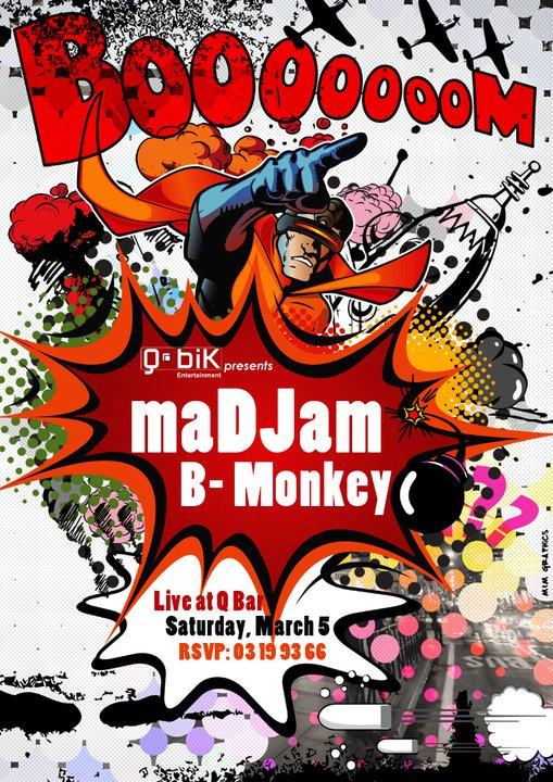 Madjam Live At Qbar