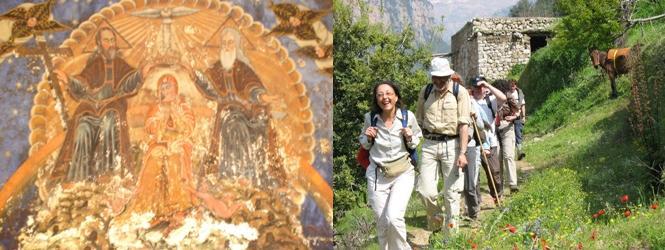Join Cyclamen Hike Qadisha Valley