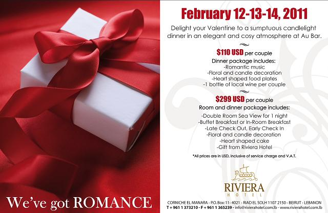 We've Got Romance At Riviera Hotel