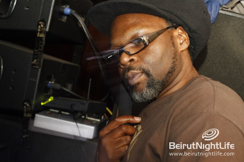 Red Bull Music Academy's Base Camp in Beirut: Jazzie B and Ernesto at B018