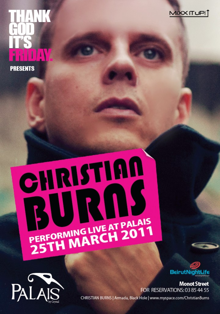 Christian Burns Live At Palais