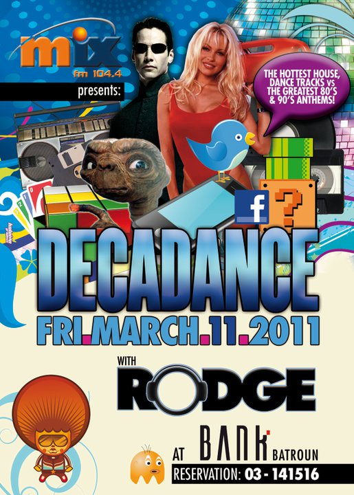 Decadance With Rodge At Bank