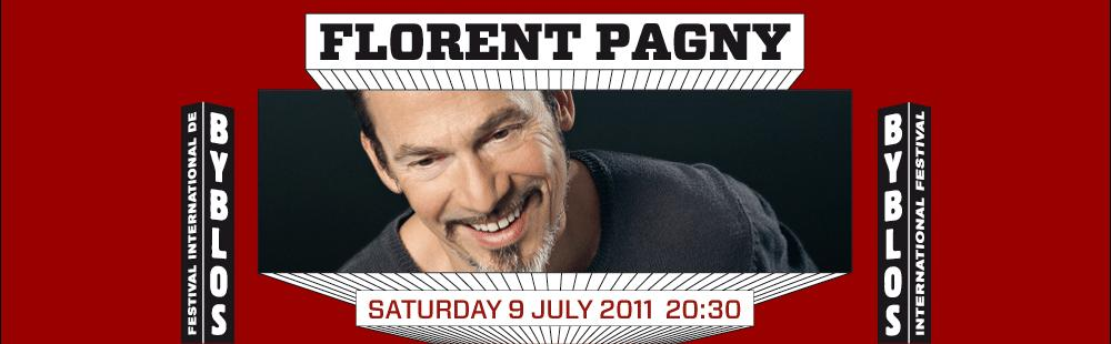 Florent Pagny At Byblos International Festival