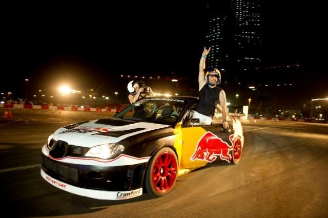 Fierce Competition at Red Bull Car Park Drift Abu Dhabi