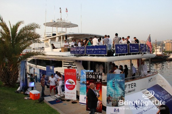 Beirut Boat Media Party