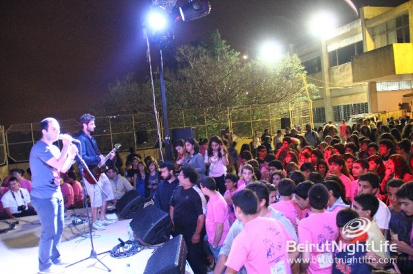 Meen Rock concert at the Champville Kermess