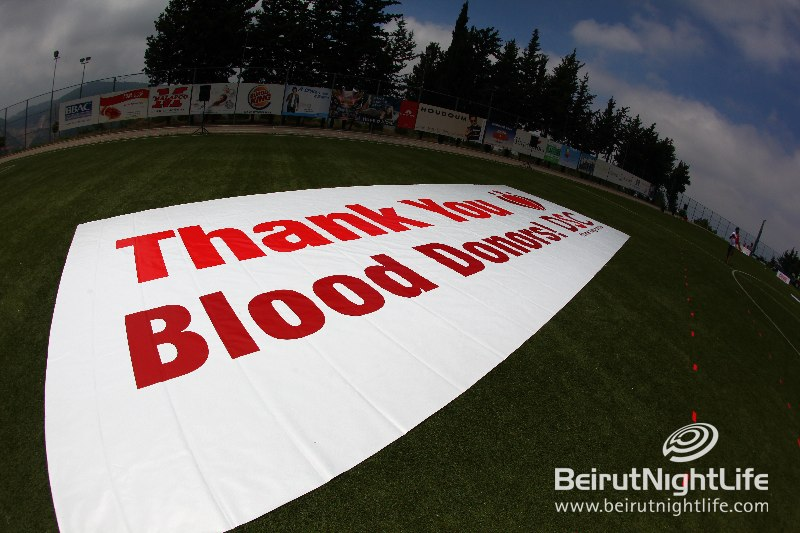 Lebanon Breaks Records During the World Blood Donor Day!