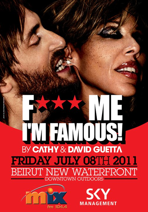 F*** Me I'm Famous 2011 With David Guetta And Cathy